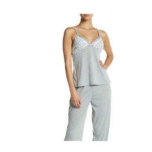 Catherine Malandrino Embroidered Camisole Pajama